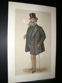 Vanity Fair Print 1877 Lord Dorchester, Turf
